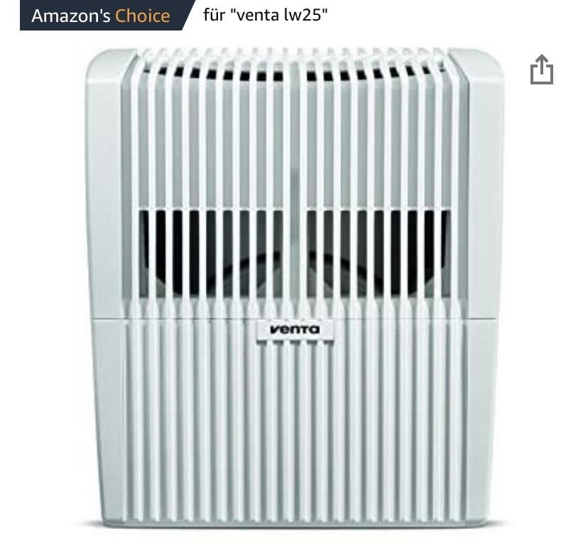 Venta LW25 Luftbefeuchter / Luftreiniger / Luftwäscher