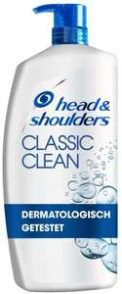 [Prime] 4 x Head & Shoulders XXL Classic Clean Anti Schuppen Shampoo, 900 ml