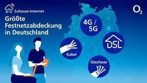 [Festnetz Kabel und DSL] monatlich kündbare O2 Tarife 3 Monate 100Mbit für 89,96€   50Mbit 99,96€   250Mbit 104,96€