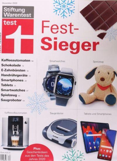 Stiftung Warentest Magazine im Abo mit Rabatt: Test für 36,70€ (statt 69€) | Finanztest 34,11 € (statt 63,96€)