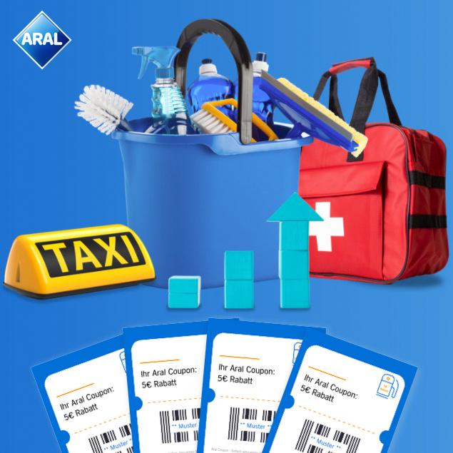 20€ (4x5€) Tankgutschein geschenkt bei ARAL für bestimme Personengruppen - ab 06.01.