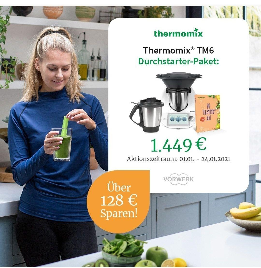 """Thermomix TM6 """"Durchstarter-Paket"""" für 1449€ statt 1577,90€"""