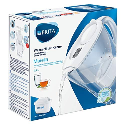 BRITA Wasserfilter Marella weiß inkl. 1 MAXTRA+ Filterkartusche