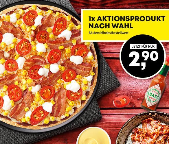 Call a Pizza Newsletter Scharfe Pizza für 2,90 (Personalisiert)