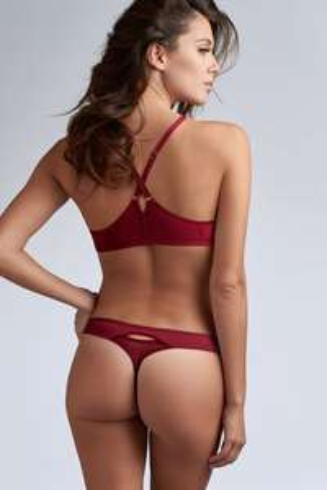 Marlies Dekkers - Classic Styles 50% off, zB.: the mauritshuis 4 cm String | rhubarb red