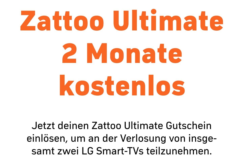 Zattoo Ultimate 2 Monate Gratis / Bestandskunden 1 Monat Gratis