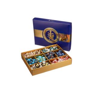 Lindor Roulette International Box, 1473g [8,49 €/kg] + 4,50 € Versand (ab 2 Boxen VSK-frei)