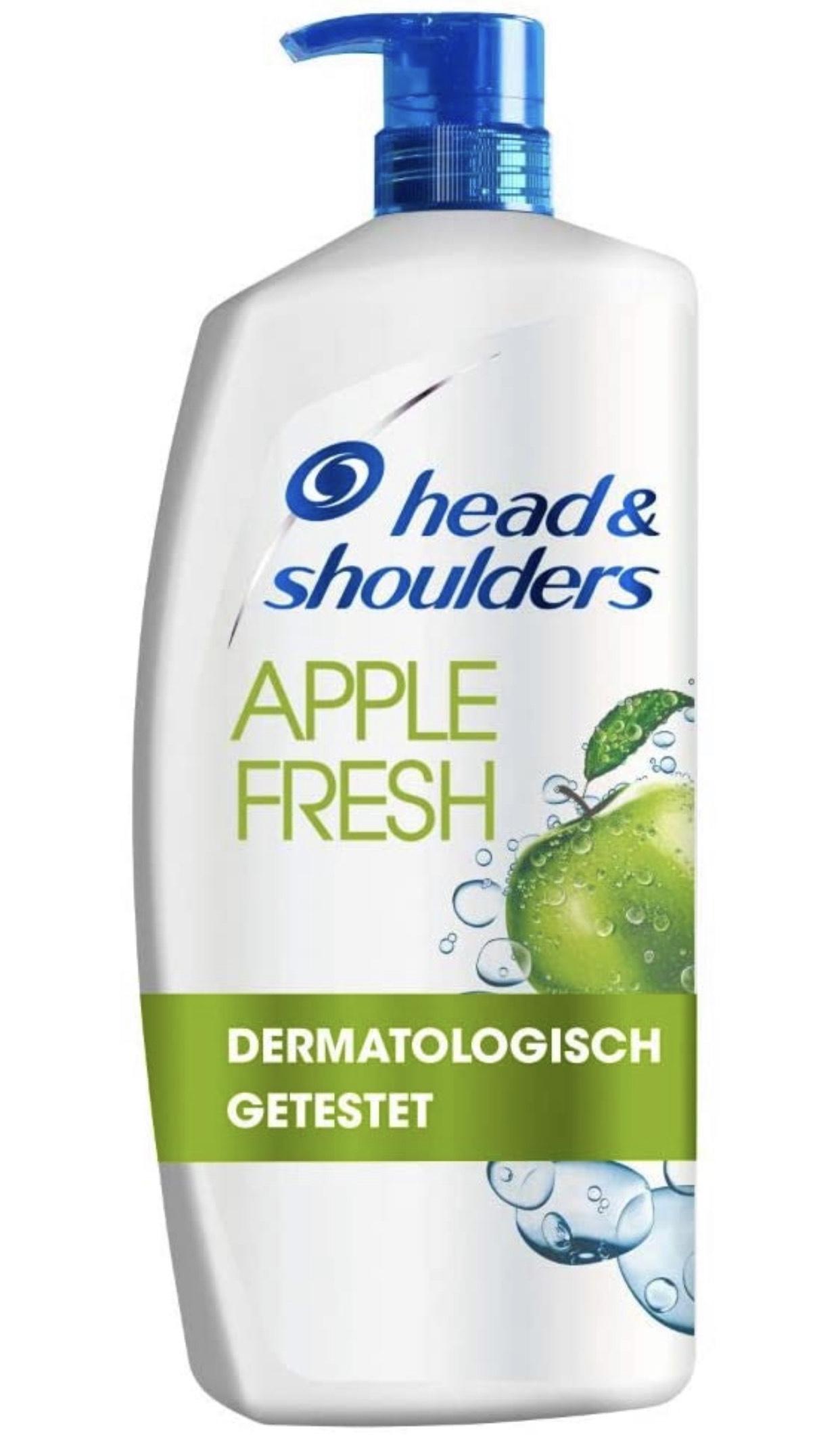 4× Head and Shoulders XXL Apple Fresh [Prime Spar-Abo]