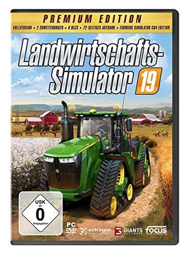 Landwirtschafts-Simulator 19 Premium Edition Windows PC DVD