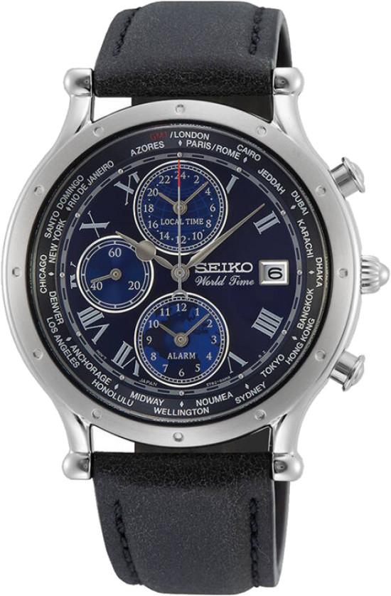 Seiko Worldtime Männerchronograph SPL059P1 / SPL059 Limited Edition