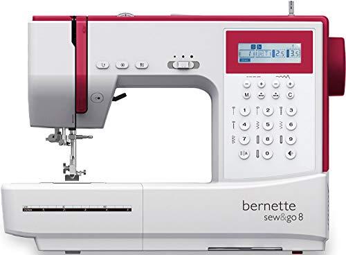 Bernette Sew&GO8 - Computer-Nähmaschine mit 197 Nähprogramme