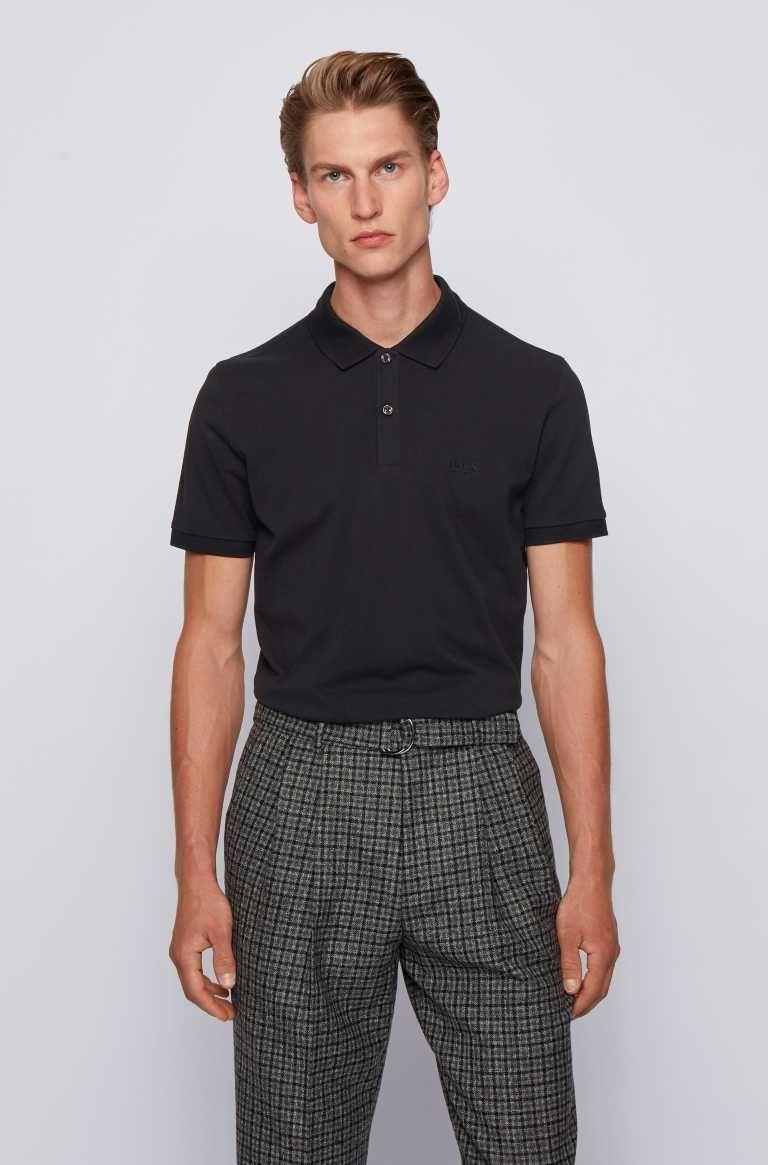 Hugo Boss Poloshirts Baumwolle slim fit diverse Farben für 35,00 Euro