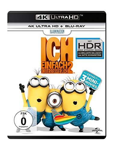 [Amazon Prime] Ich Einfach unverbesserlich 2 4K UHD (inkl. 2D Blu Ray) für 11,99