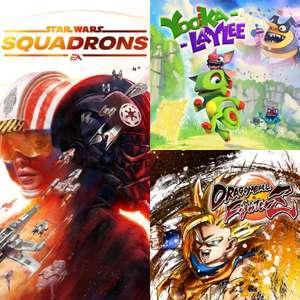 Xbox Free Weekend: Star Wars Squadrons, Yooka-Laylee & Dragonball Fighterz (Live Gold / Game Pass Ultimate)