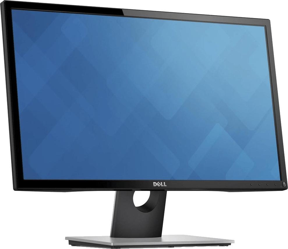 """Dell SE2416H Monitor (23.8"""", FHD, IPS, 250cd/m², 60Hz, HDMI, VGA, nicht höhenverstellbar, ohne VESA, 3J Garantie)"""
