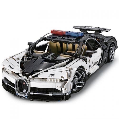 Barweer, 3635pcs Technic, 1:8 Super Racing Car, Bugatti Chiron, Klemmbausteine