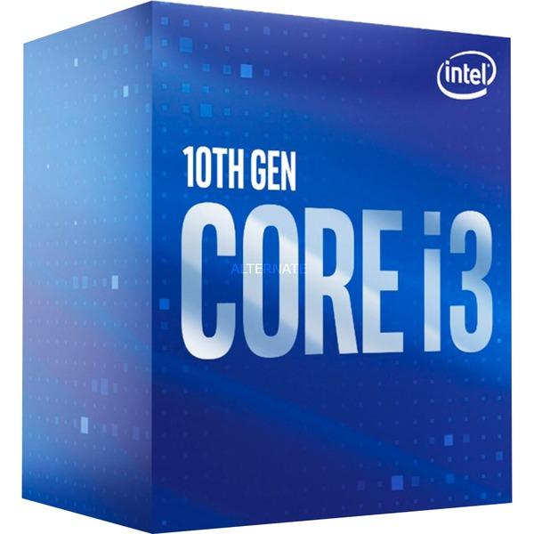 Intel Core i3-10300 - Sockel 1200 - 3,7/4,4Ghz - 4/8 - 65W TDP - Intel UHD 630 Grafik