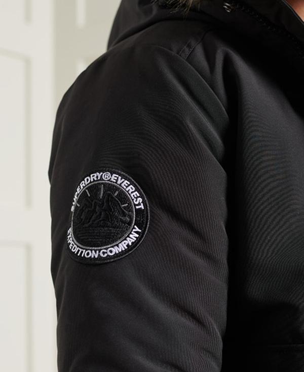 Superdry Everest Bomber Jacket Schwarz oder Khaki