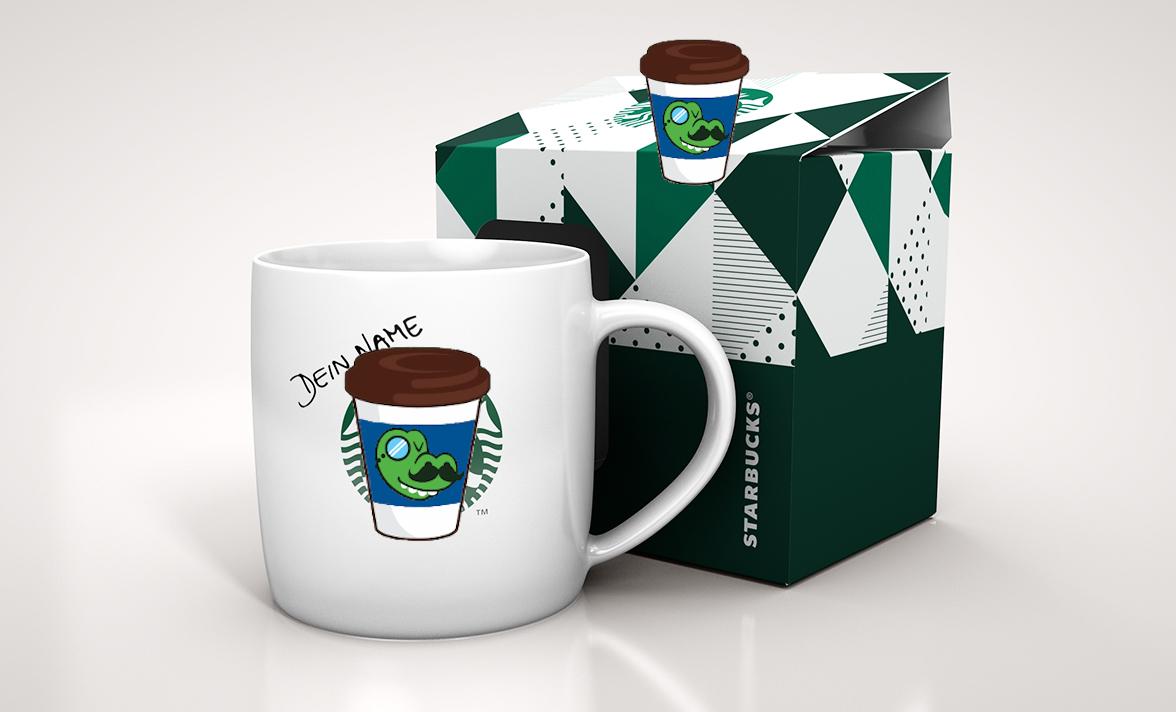 5 STARBUCKS® Produktekaufen und STARBUCKS® Tasse erhalten