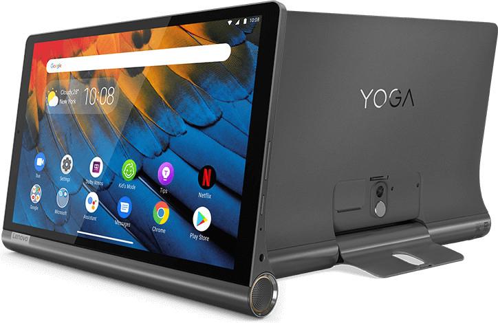 LENOVO Yoga Smart Tab YT-X705F Tablet 3GB 32GB 10,1 Zoll Full-HD IPS Google Sprachsteuerung Iron Grey für 169€ inkl. Versandkosten