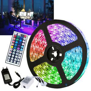 RGB LED Streifen Beleuchtung Stripe Partylicht Lichterkette