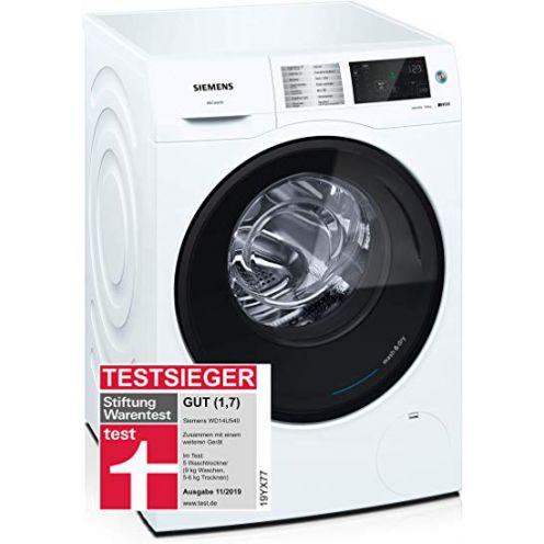 Waschtrockner Siemens WD14U540 iQ500 (Baugleich mit Testsieger Bosch WDU28540) / 9 kg waschen / 6 kg trocknen / Energieklasse A
