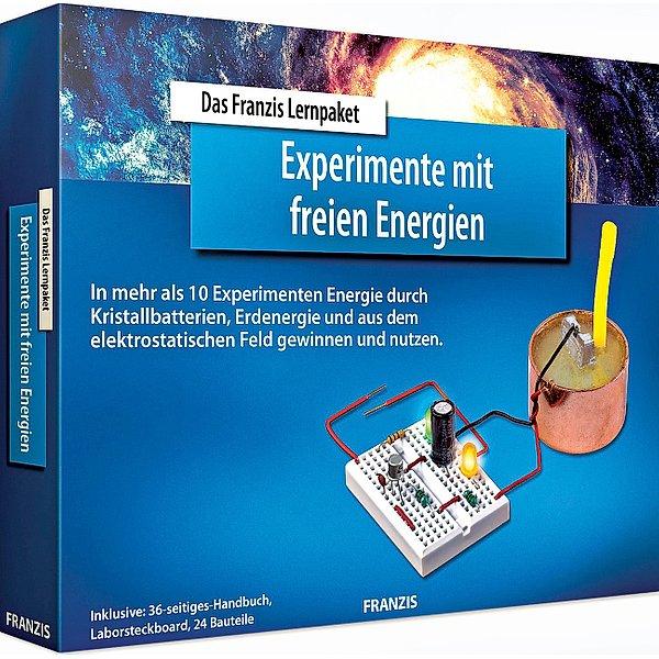 """Franzis Lernpaket """"Experimente mit freien Energien"""" und """"Der kleine Rabe Socke"""" Freundealbum, zusammen für 6,98 Euro [Jokers / Weltbild]"""