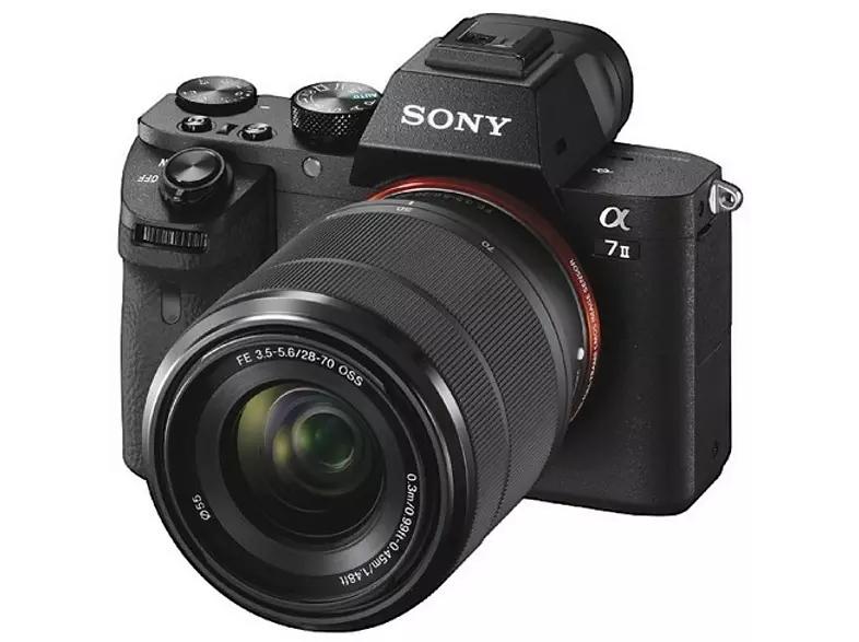 Sony Alpha 7 II Kit 28-70 mm (ILCE-7M2K), Systemkamera 24.3 Megapixel, 7,6 cm Display, WLAN