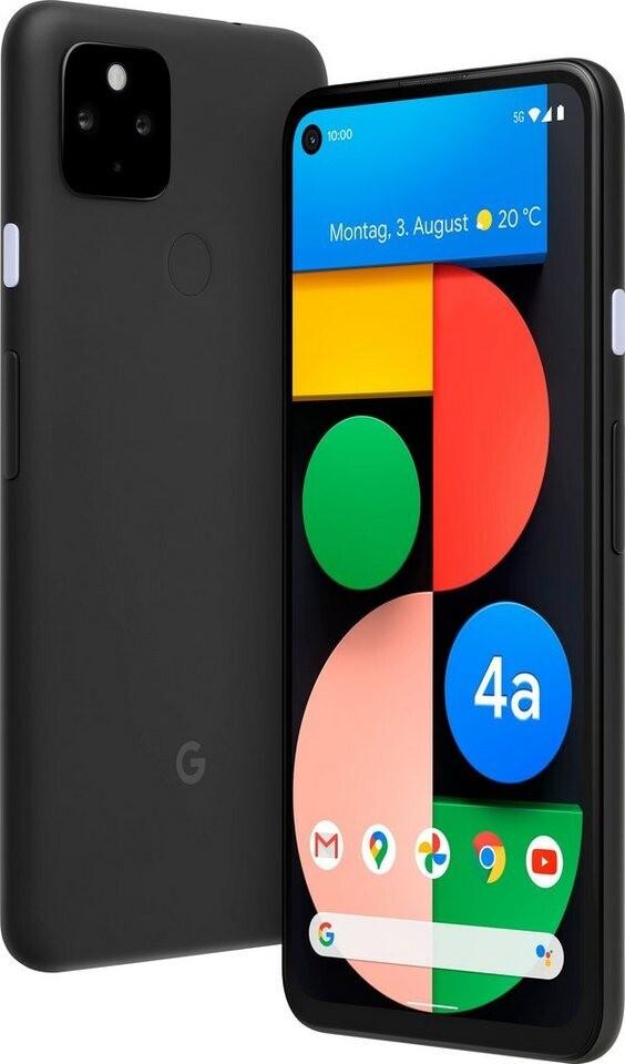 "Google Pixel 4a 5G (6.2"", FHD+, OLED, HDR, SD765G, 6/128GB, 12.2MP + 16MP, 3885mAh, Fingerprint hinten, NFC, Klinke, 168g, Android 11)"