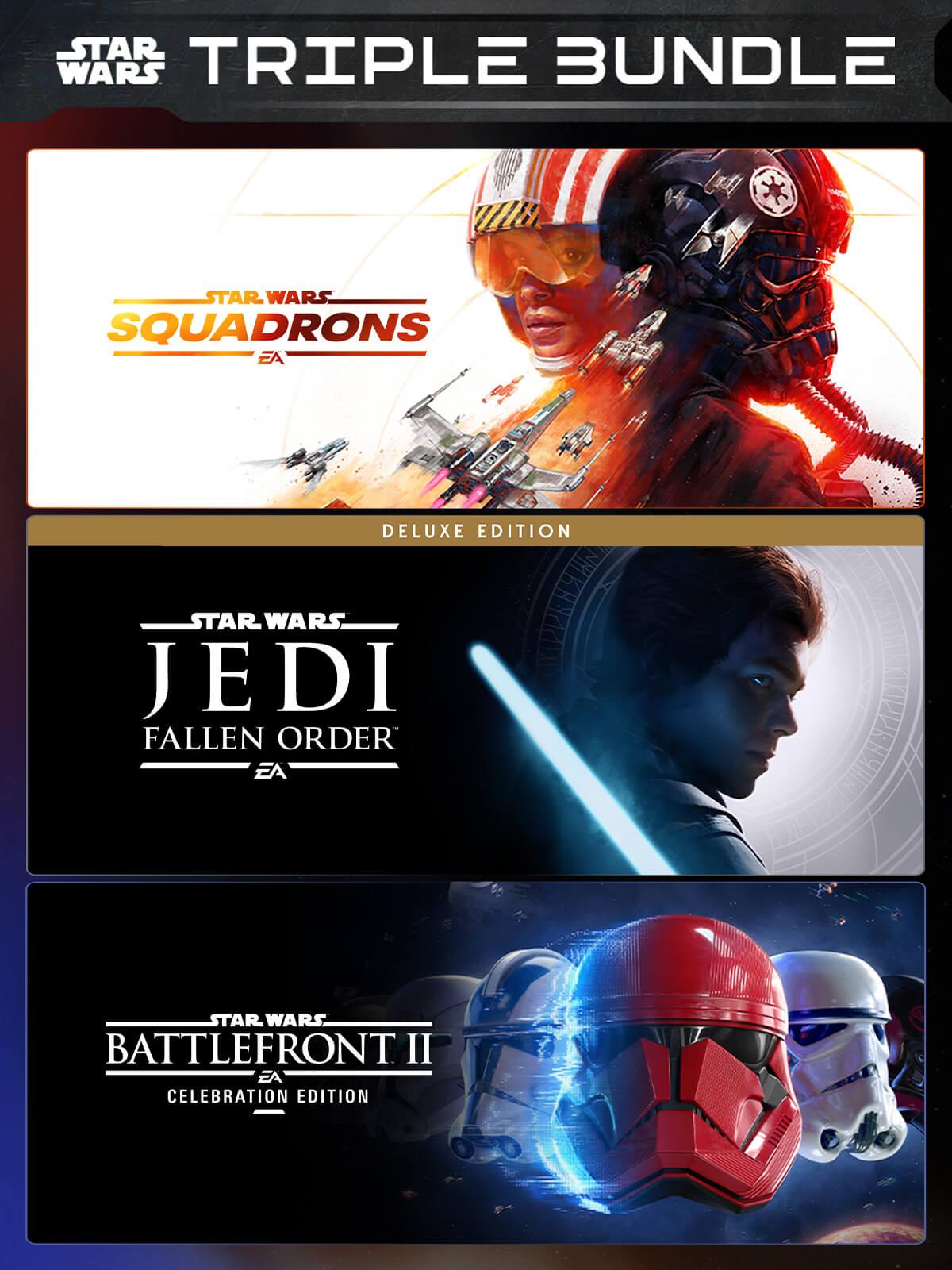 [PC] Star Wars Triple Bundle : Squadrons + Fallen Order Deluxe + Battlefront II Celebration (EPIC / RU - VPN)