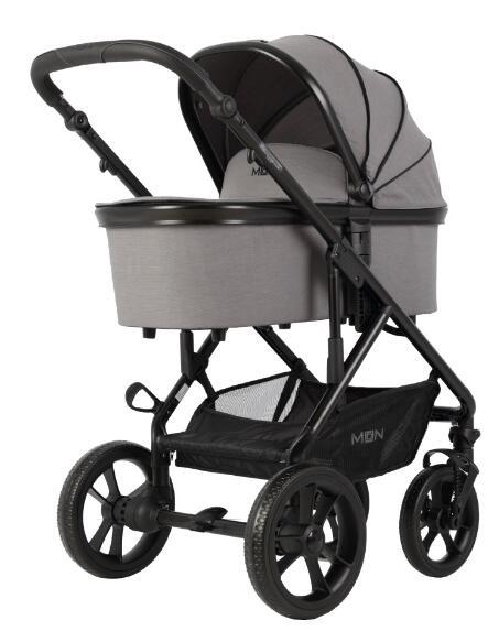 Winter-Gutscheine im Babymarkt, z.B. MOON Kombikinderwagen Nuova Stone Melange Exclusiv für 294,99€