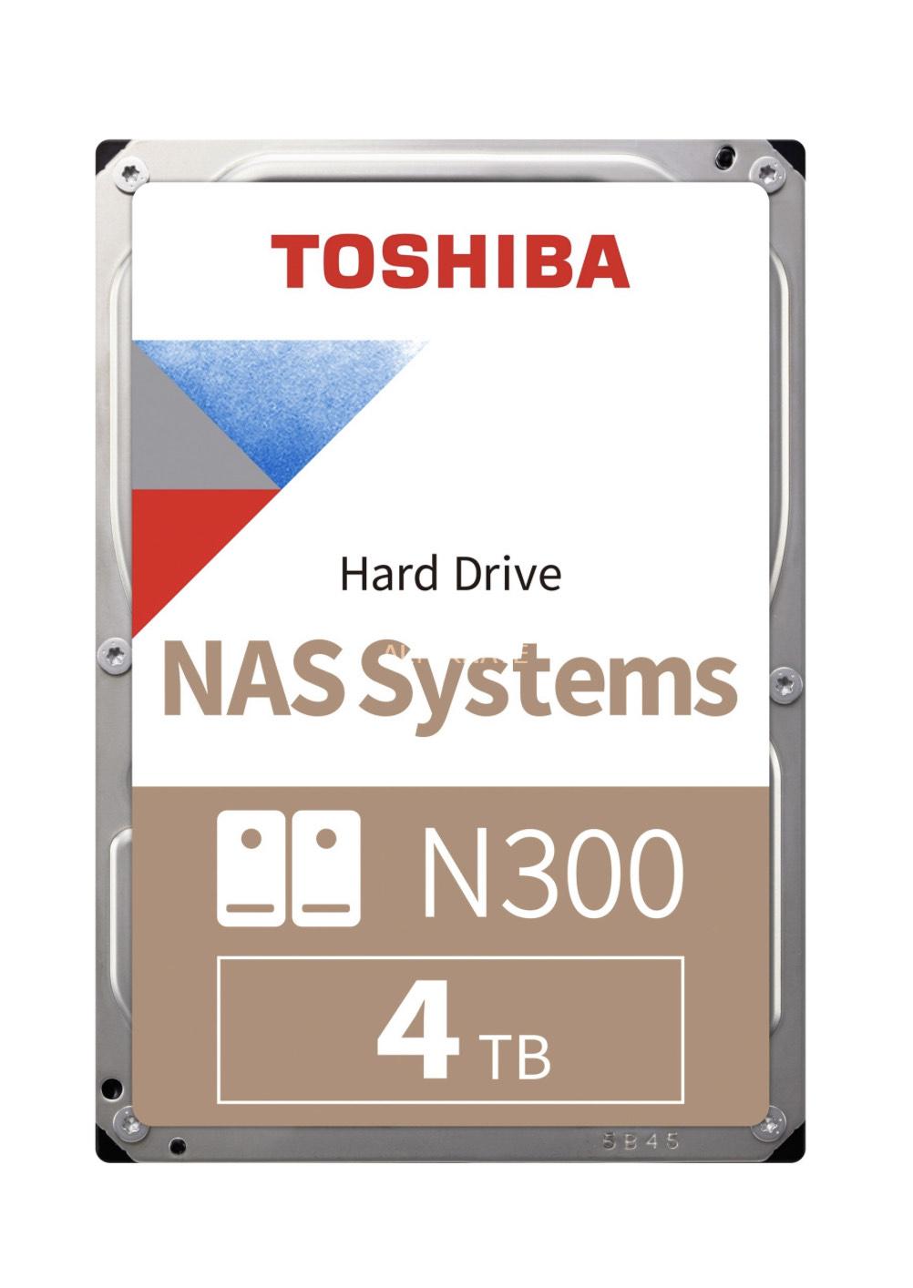 Toshiba N300 4 TB, Festplatte