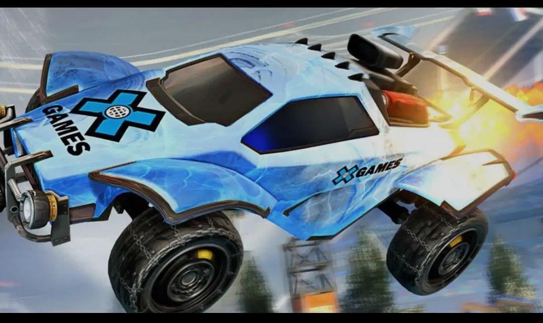Rocket League - 2 kostenlose Banner der X-Games (freebie)