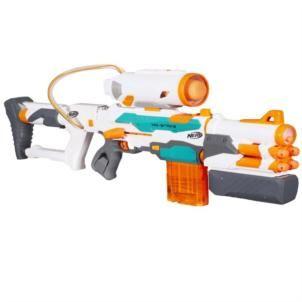 [spar-toys.de] Hasbro Nerf B5577EU4 - N-Strike Tri Strike Elite Modulus Blaster, 3 versch. Pfeilsysteme, bei buecher.de nun für 39,99€