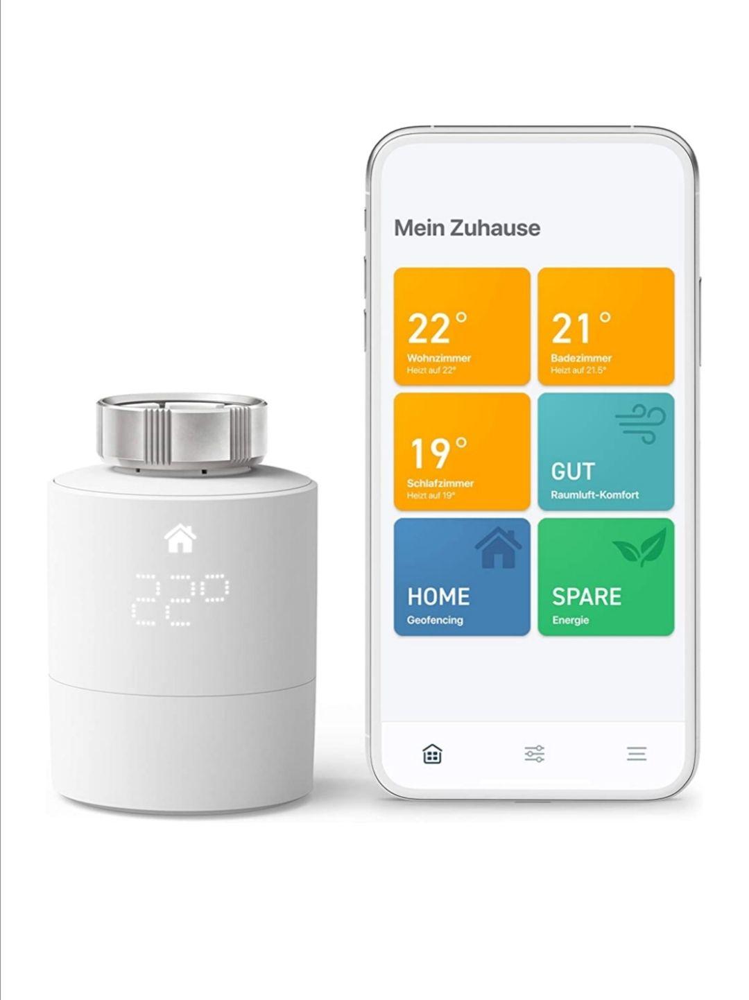[Prime] Tado smartes Thermostat Starterkit für 74,90 (ohne Prime zzgl. Vsk.)