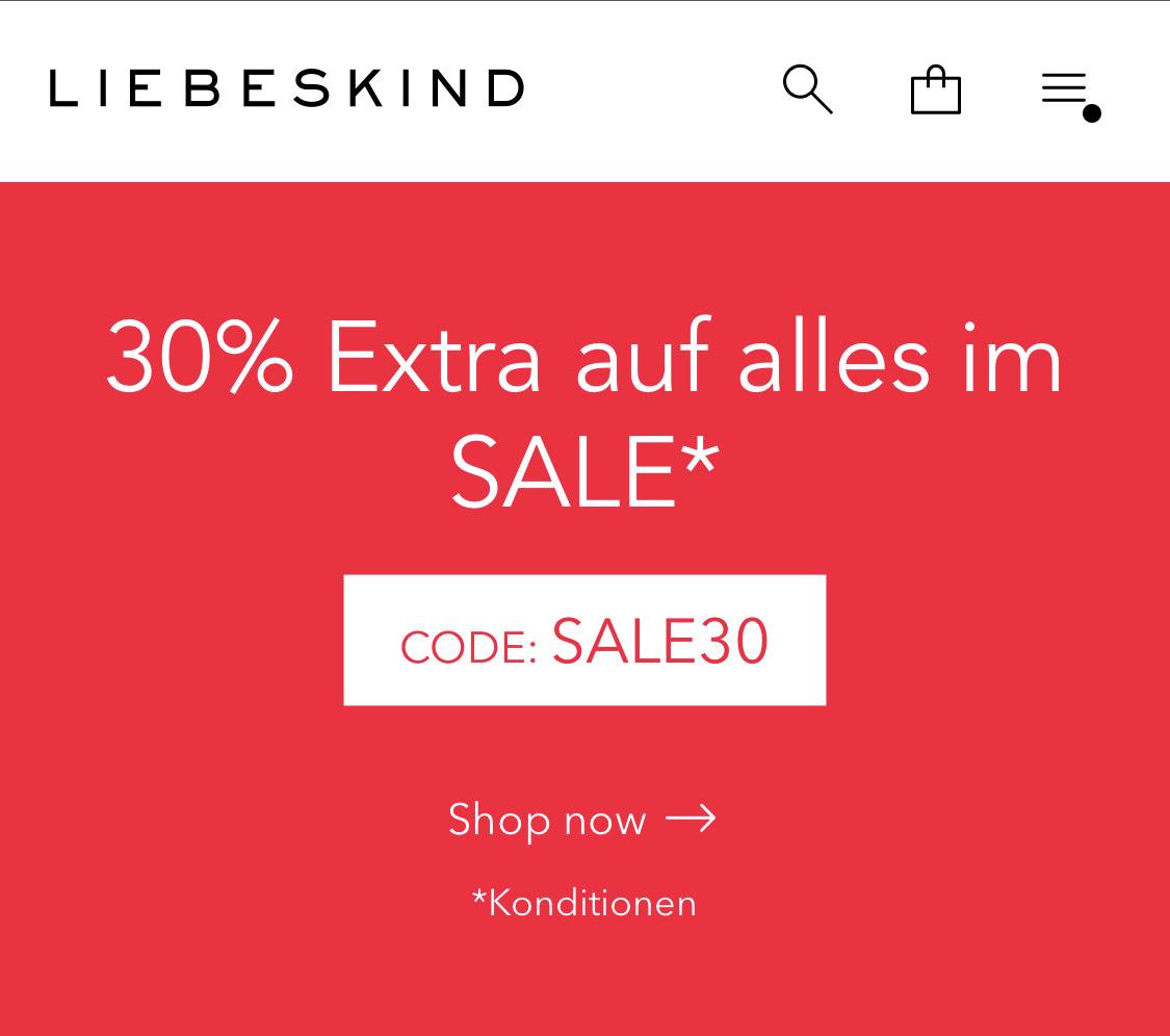 Liebeskind Berlin 30% auf Sale