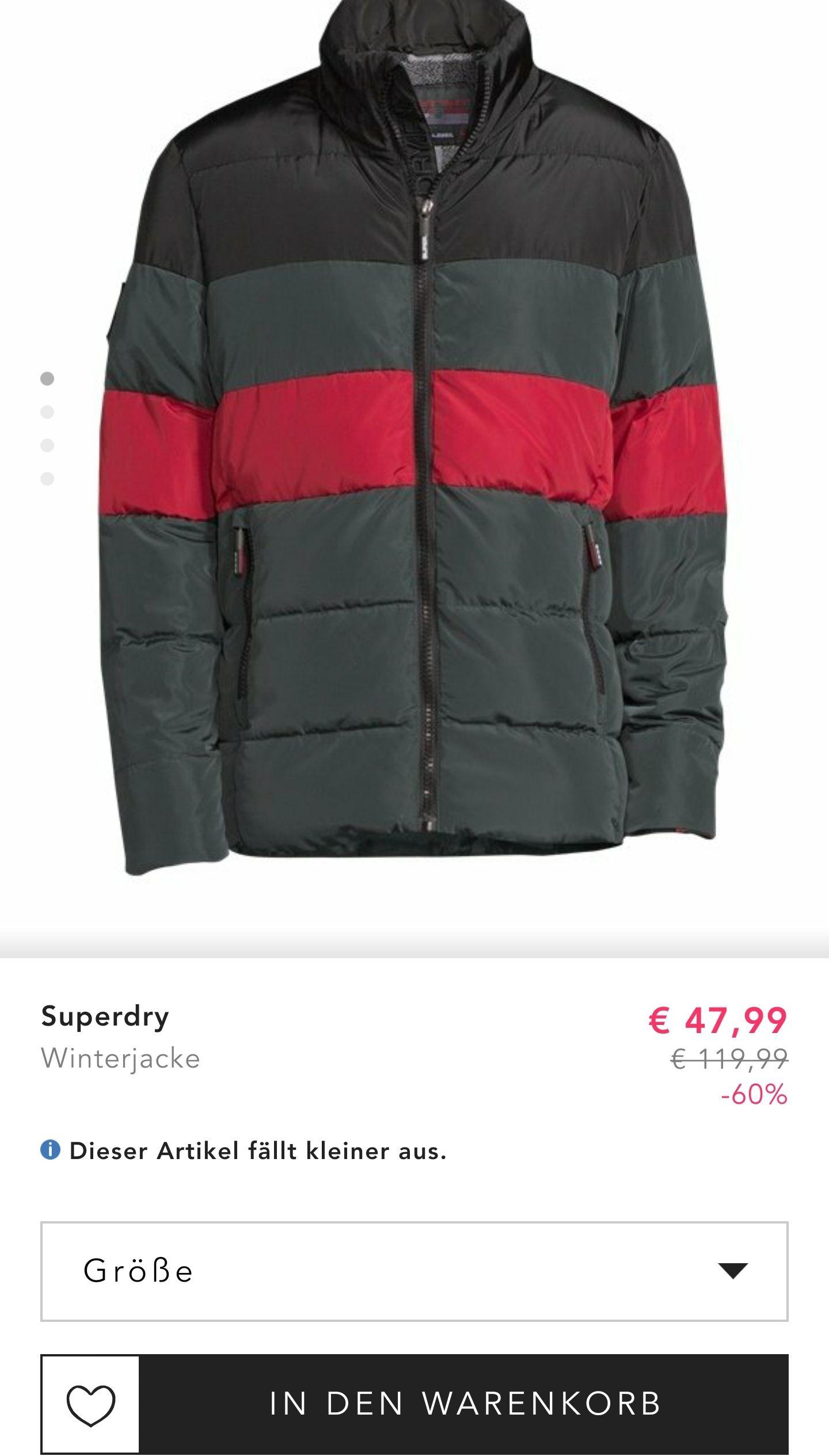 Superdry Winterjacke im Angebot bei Bestsecret