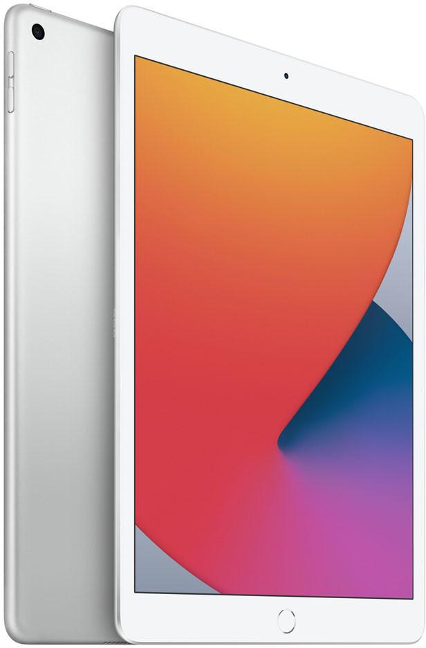 """Apple iPad 8. Gen (2020) 3/128GB WiFi silber (10.2"""", 2160x1620, IPS, A12, 8MP hinten, 1.2MP vorne, Lightning, Klinke, 34.4Wh Akku, 490g)"""