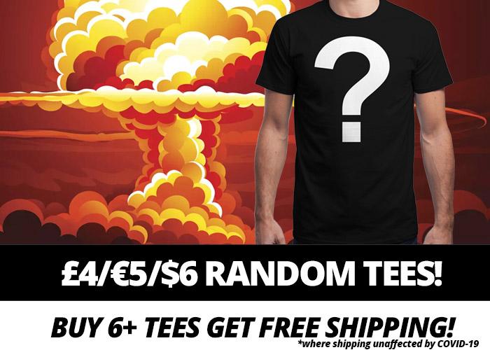 Qwertee MEGA INSANITEE SALE!!! für 5€ plus gratis Versand ab 6 Shirts