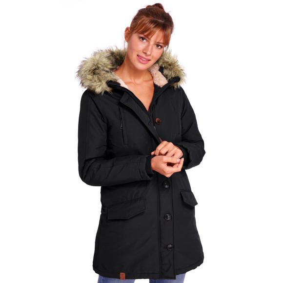Ernstings Family Winter Sale online : Damen Parka Webpelz in verschiedenen Farben + andere günstige Artikel