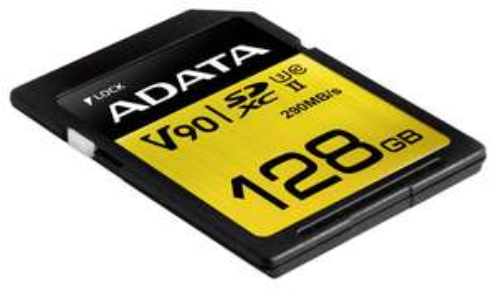 Adata Premier ONE SD-Karte 128GB U3 (UHS-2) - zum Schnäppchenpreis