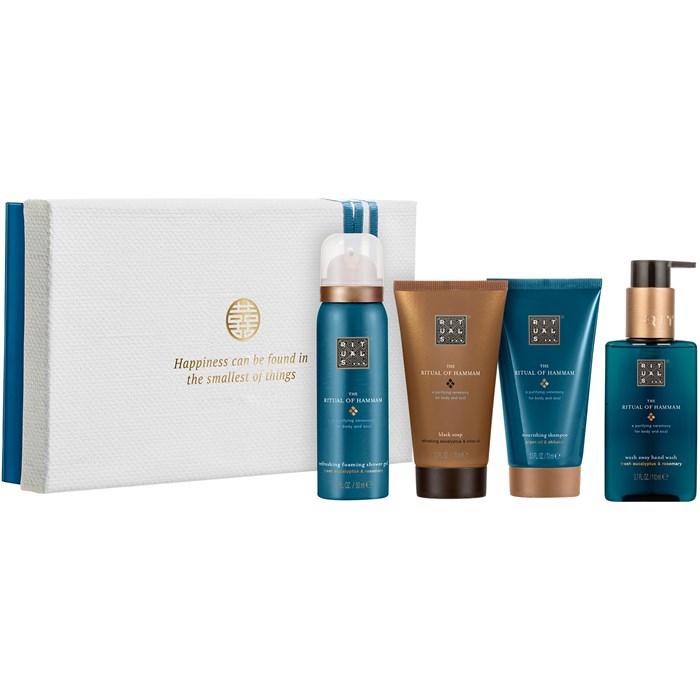 [parfumdreams] Rituals The Ritual of Hammam Purifying Treat Set (4-tlg.) - Duschgel, Flüssigseife, Shampoo, Körpercreme