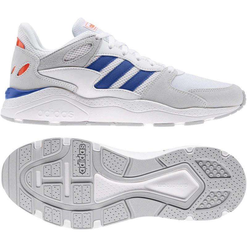 adidas Crazychaos Sneaker weiß/blau (Gr. 42 - 47)