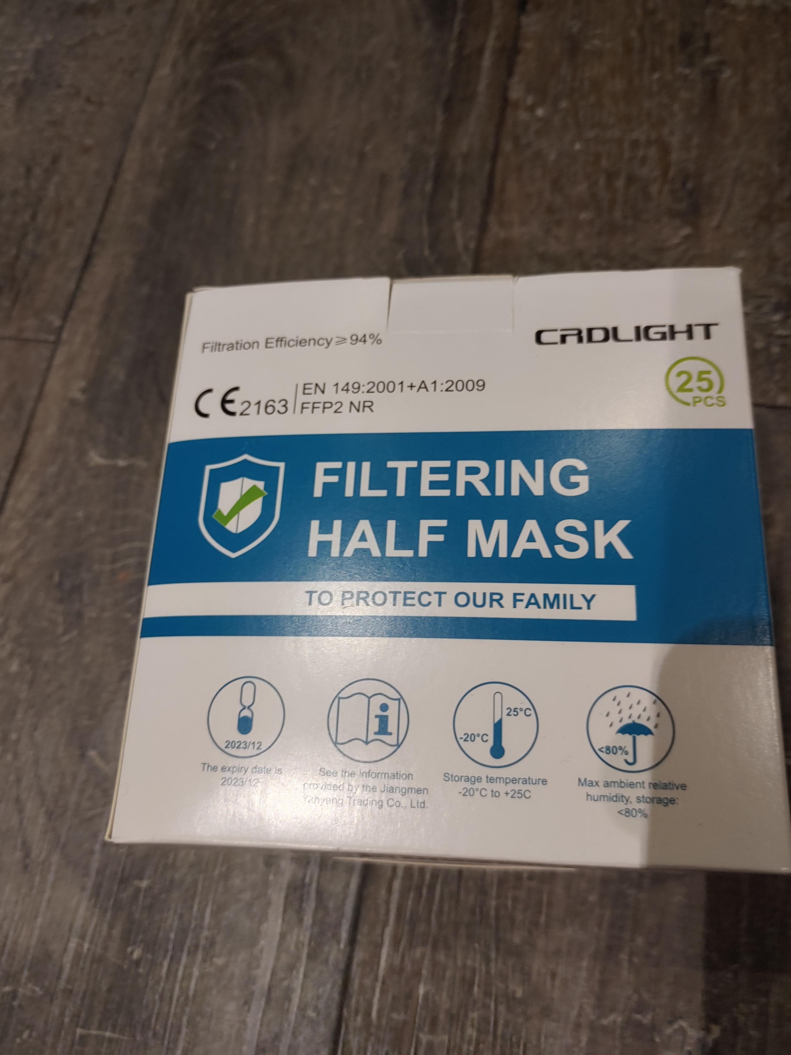 [LOKAL (Unter-)Allgäu] V-Markt - 25 FFP2 Masken von CRDLIGHT für 14,99€