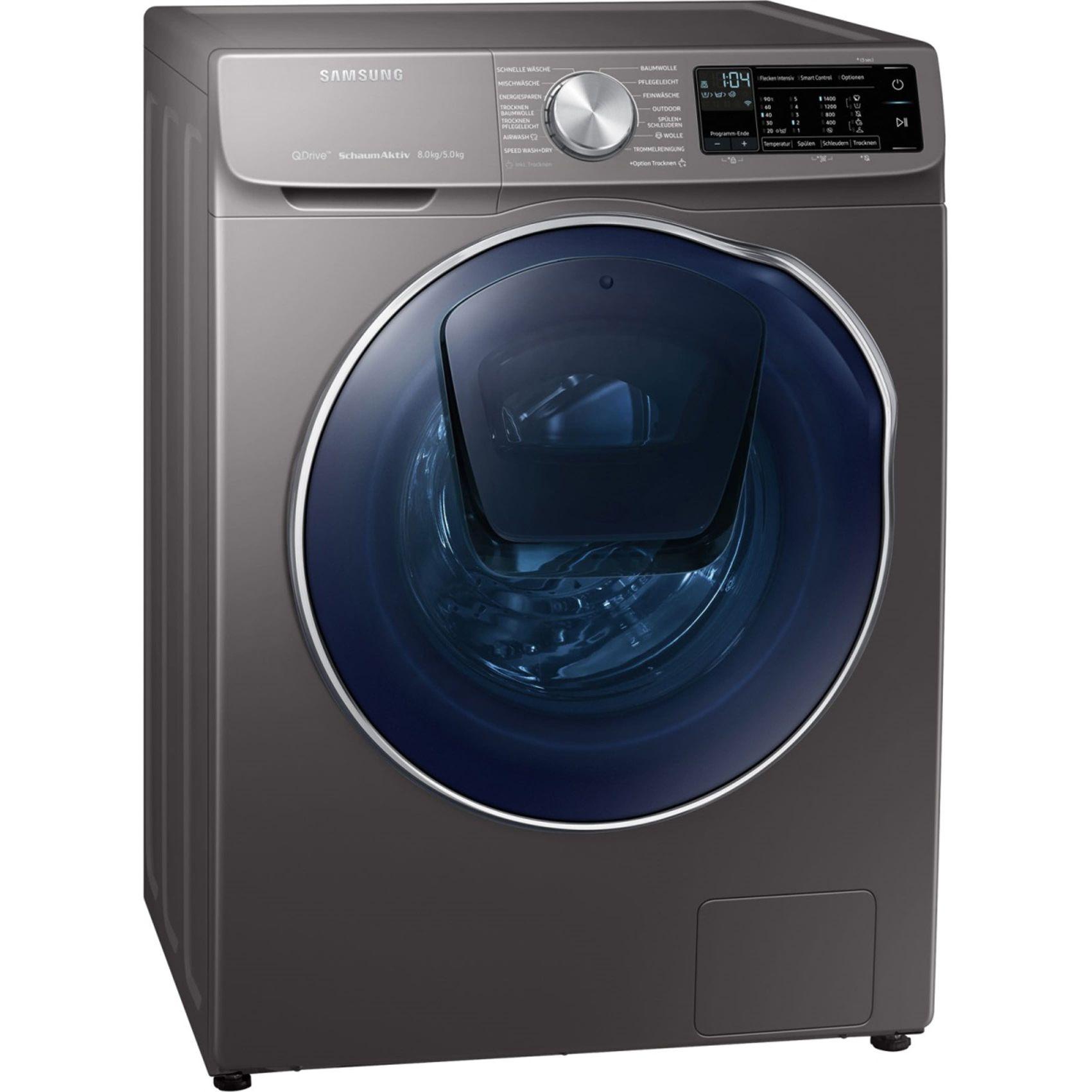Waschtrockner Samsung WD80N642OOX