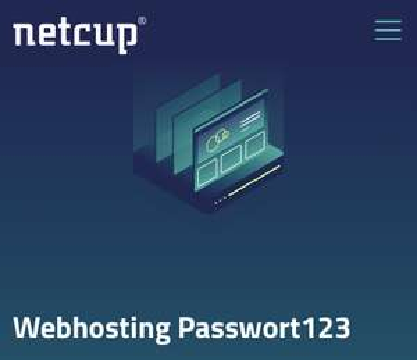 Netcup 1€/Mon. für 1 .DE Domain Webhosting 100x Mail 50GB