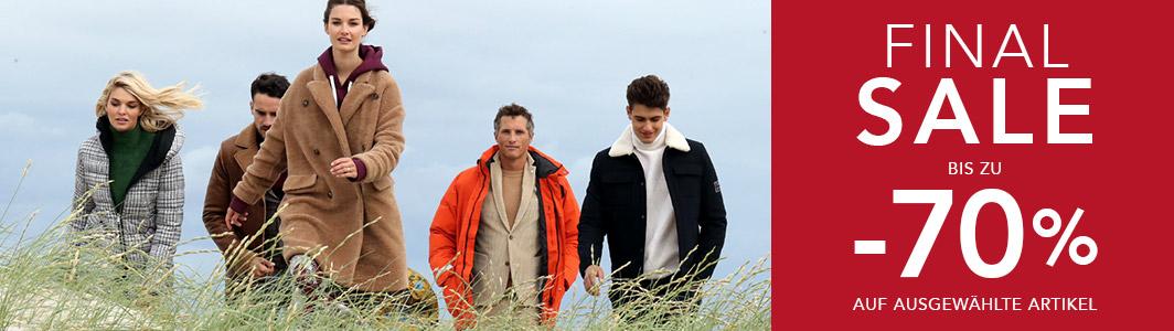 Van Graaf - bis zu 70% Rabatt im Sale auf Markenkleidung, u.a. mit Wellensteyn, Hugo Boss, Ralph Lauren, Tommy Hilfiger (+ 7% Shoop)