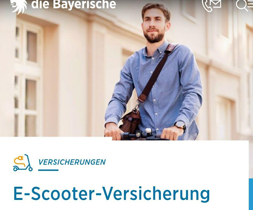 E-Scooter Kennzeichen, Haftpflichtversicherung für 14,80 € im Jahr durch 10€ Cashback bei TOPCASHBACK
