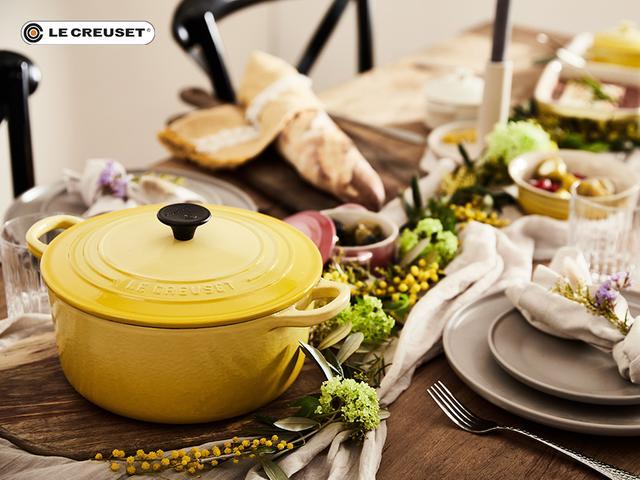 Le Creuset Sale bei WW, z.B. Le Creuset Gusseisen-Bräter Citrus, rund