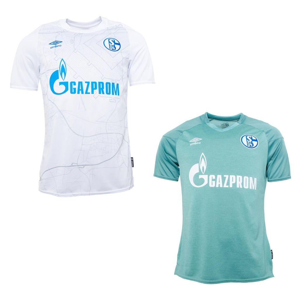 FC Schalke 04 Fußball Trikot 2020/2021 Away & 3rd Umbro Herren / S-XXL